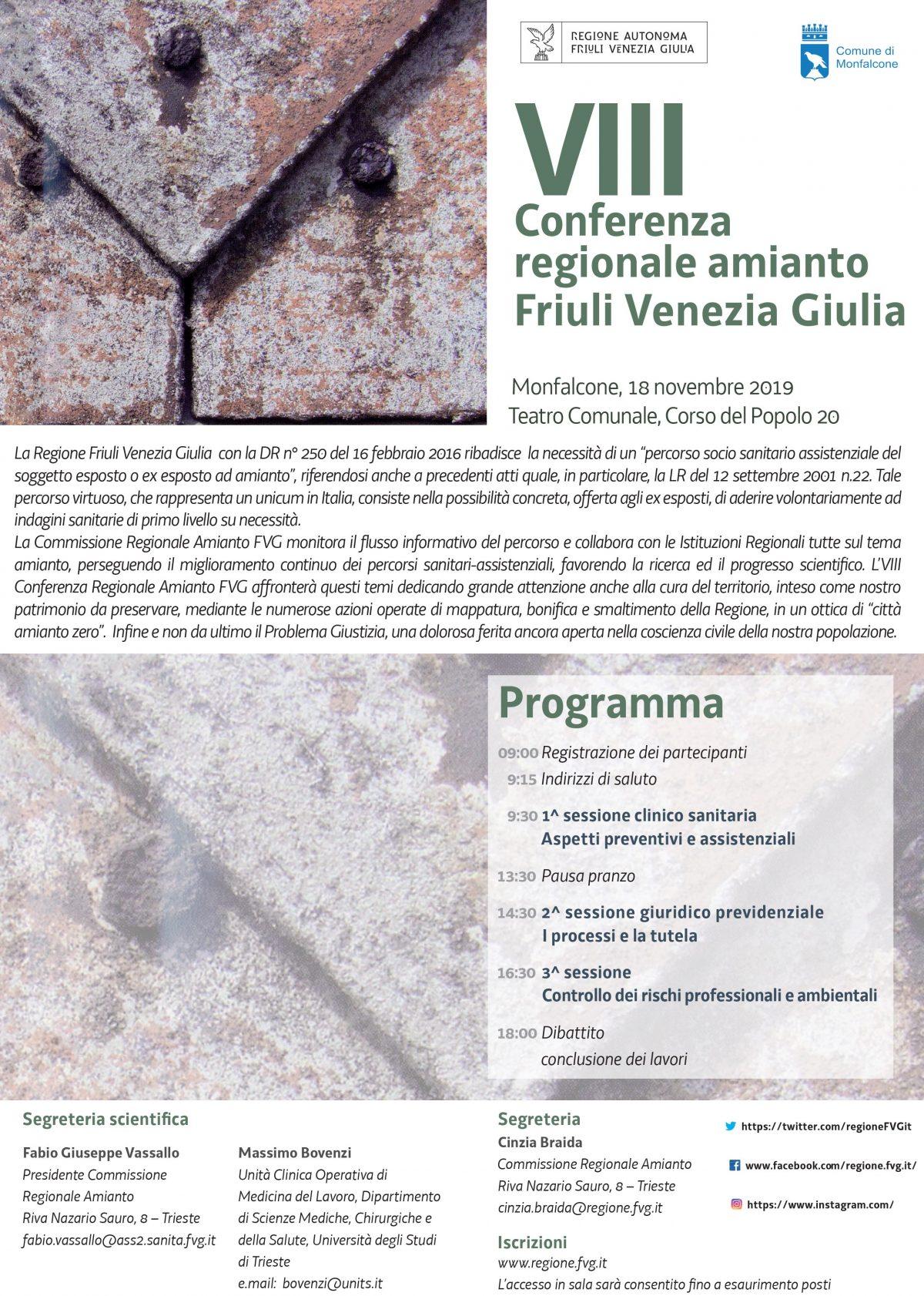Ottava Conferenza Amianto